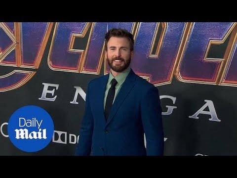 Captain America Chris Evans At Avengers: Endgame Premiere