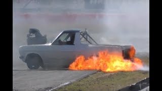 BLOWN  DATTO and CAPRI - BLOWN OUTLAWS -  DESTROY POWERCRUISE #72 AT QUEENSLAND RACEWAY SEPT 2018