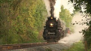 NKP 765 Steam In The Valley 2011