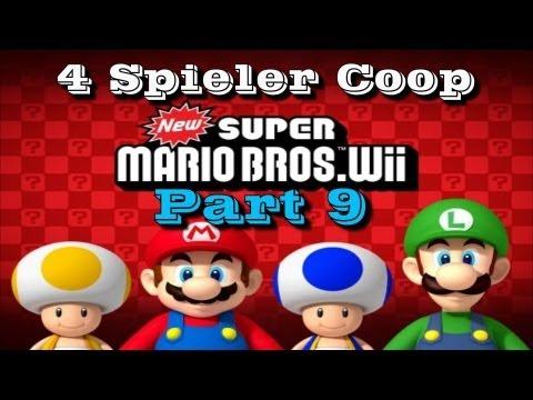 New Super Mario Bros. Wii Part 9 - Bubblemania [4-Spieler]