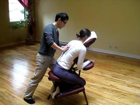 Thai Chair Massage 1  YouTube