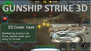 Gunship Strike 3D Hunter Helicopter Cover Task
