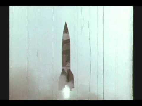 WW II : RARE COLOR FILM : NAZI V2 ROCKET FACILITY