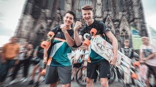 Longboard Tour 2019 bis ans Meer  RaceTour Tag 1