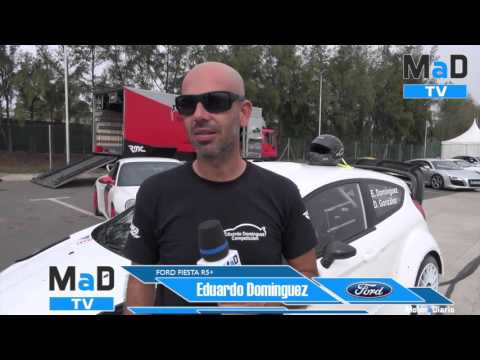 Test Ford Fiesta R5+ Eduardo Domínguez  2015