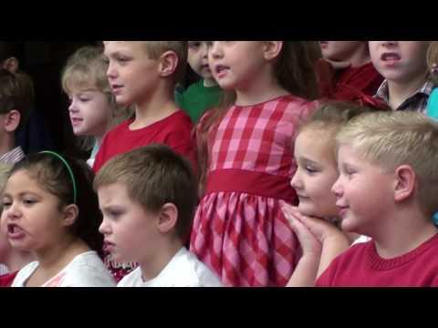2014 Geraldine Kindergarten Kids Singing Christmas Songs