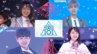 Produce X 101 PICK ME ALL PICK ME Produce 48 Produce 101 Pick Me 모든 쇼 시즌