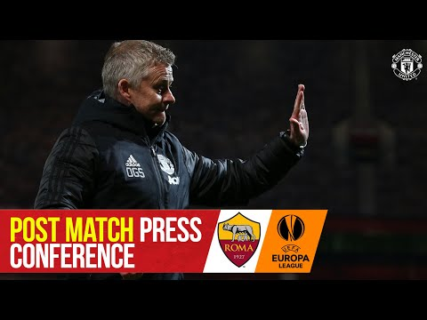 """Solskjaer: """"The boys played some great stuff second half""""   Manchester United 6-2 Roma"""