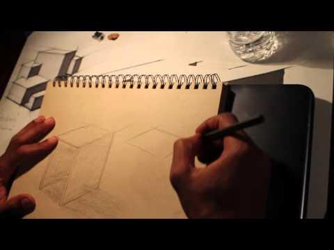 Barber Goods Furniture Sketch