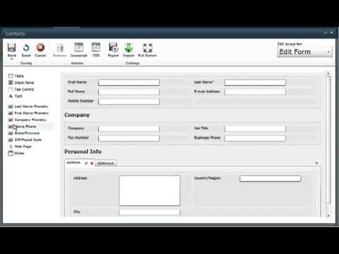 Sharepoint custom Forms Designer - YouTube