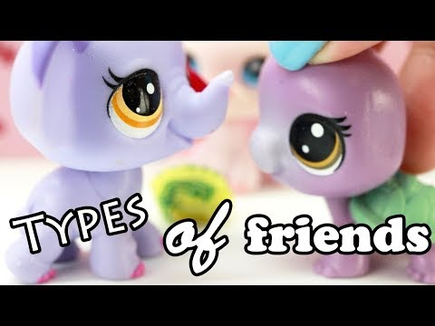 LPS - 10 TYPES OF FRIENDS!