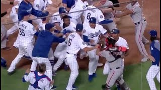 Yasiel Puig Nick Hundley Fight Brawl Ejected Ejection Dodgers Giants MY THOUGHTS REVIEW