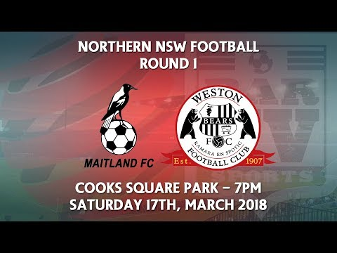 2018 NNSWF NPL - Round 1 - Maitland Magpies FC v Weston Workers FC