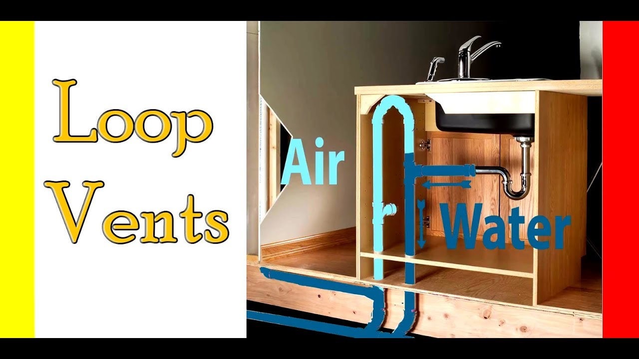 hight resolution of loop vents for venting islands in your kitchen