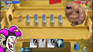 Castle Crush - Max 6 Crystals Deck 🔥🔥🏹🏰🏰 #608 LEVEL 10 - BSG