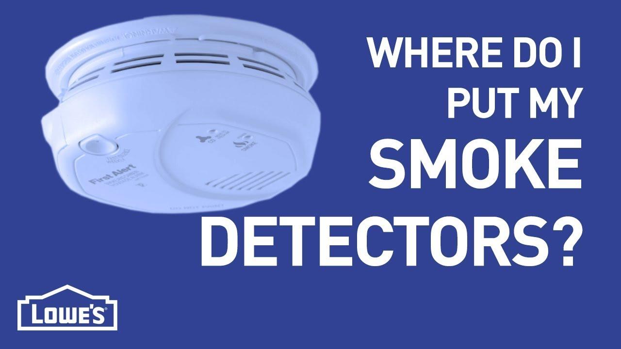 Where Do I Put My Smoke Detectors Diy Basics Youtube