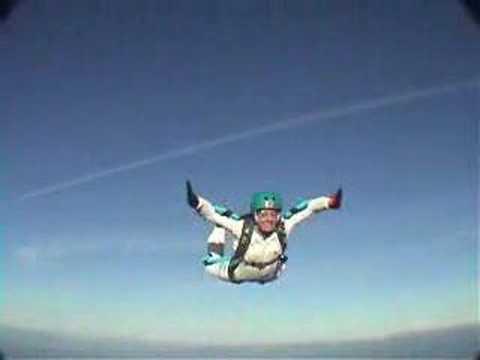 Jennifer Solo Skydive