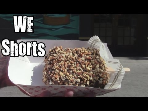 WE Shorts - Boehms Chocolates Hand Dipped Ice Cream Bar