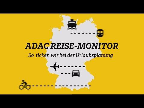 ADAC Reise-Monitor 2018: So ticken wir bei der Urlaubsplanung / Trend zur Digitalisierung bei der Buchung / Deutschland weiter Top-Reiseziel