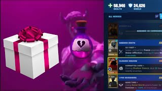 INSANE Giftbox, Hero Loadout, & Love Storm Event! Patch 8.00 Update | Fortnite Save The World