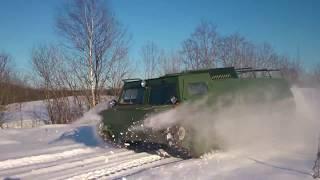 Гусеничный вездеход Газ 73 (ГТМУ), ''Газушка'' (модернизация)/ caterpillar tractor