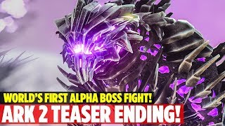 HIDDEN ENDING FOUND! ALPHA KING TITAN BOSS FIGHT - Ark: Survival Evolved Extinction