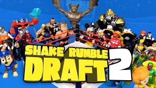 Shake Rumble DRAFT #2 with Avengers Toys, WWE Toys, Power Rangers Toys & Paw Patrol Toys by KidCity