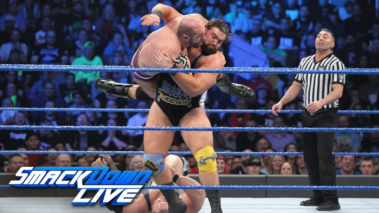 Four Corners Tag Team Elimination Match: SmackDown LIVE, Jan. 21, 2019