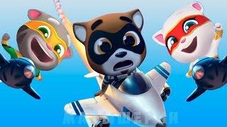 ГОВОРЯЩИЙ ТОМ бег за ЗОЛОТОМ  #11 Воздушный бой Супер Том Анджела Хэнк Мультик Игра Для детей