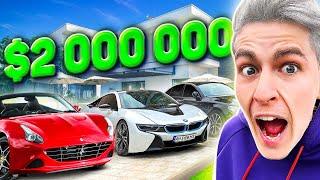 ГАРАЖ MAGIC FIVE НА 2000000$... *** ОТКУДА ДЕНЬГИ? ***