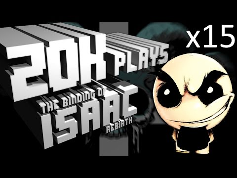 Binding of Isaac Rebirth x15 (Safety Dance)