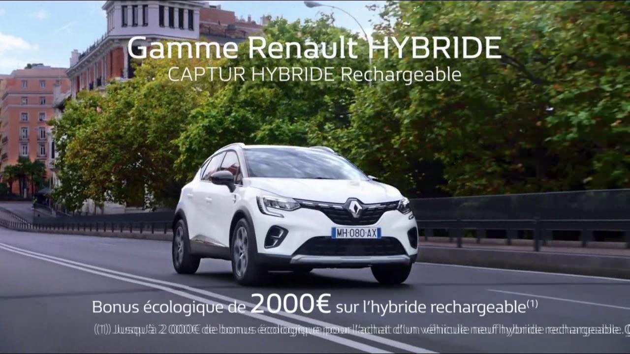 """Musique de la pub Gamme Renault Hybride (Captur Megane Clio) """"la mobilité électrique pour vous""""  2021"""
