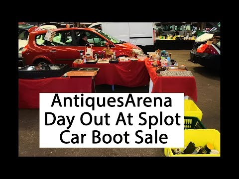 Day Out Selling & Buying Antiques & Collectables Splot Market Cardiff