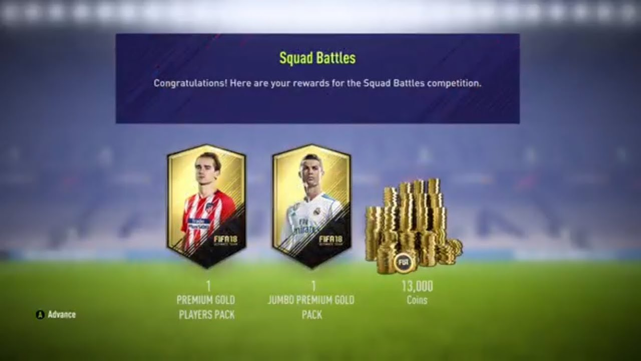 FIFA 18 SQUAD BATTLES REWARDS - GOLD 2 REWARDS! #1