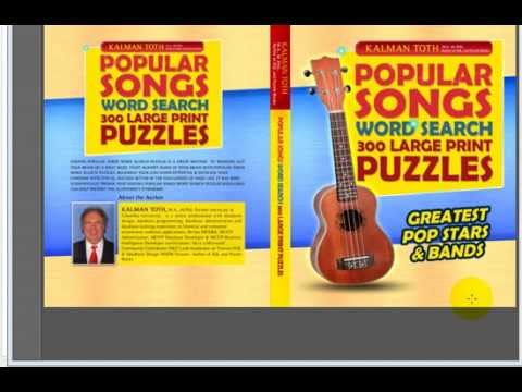 Popular Songs Word Search 300 Large Print Puzzles