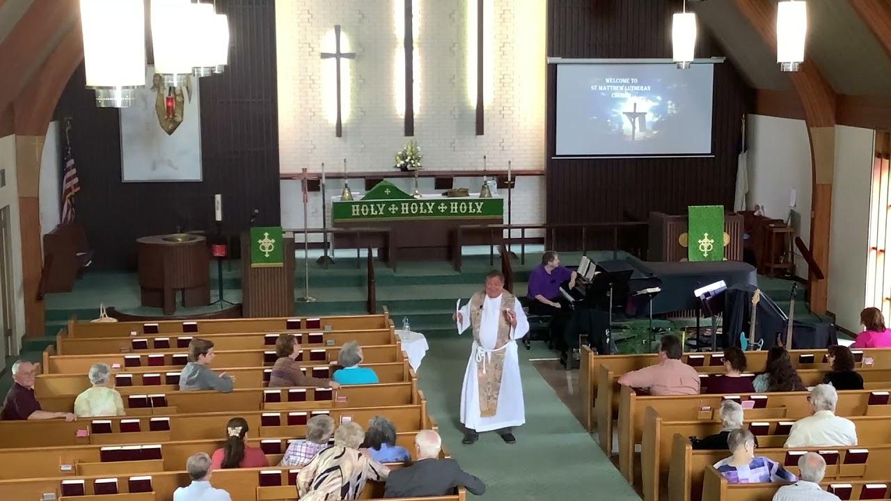 St. Matthew ... Port Angeles WA ... Sunday Service 071821