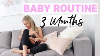 BABY ROUTINE (3 months old) | Krissy Ropiha