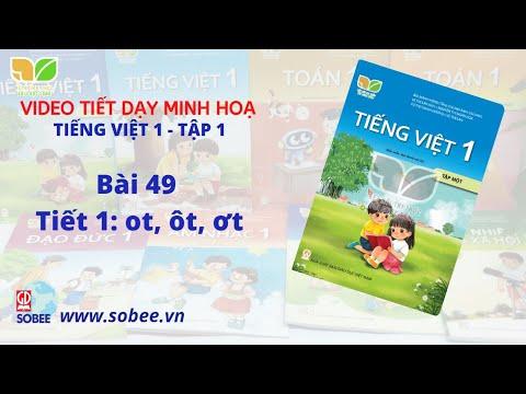 Tiết dạy minh hoạ Tiếng Việt 1 tập 1 - Bộ sách KẾT NỐI TRI THỨC VỚI CUỘC SỐNG