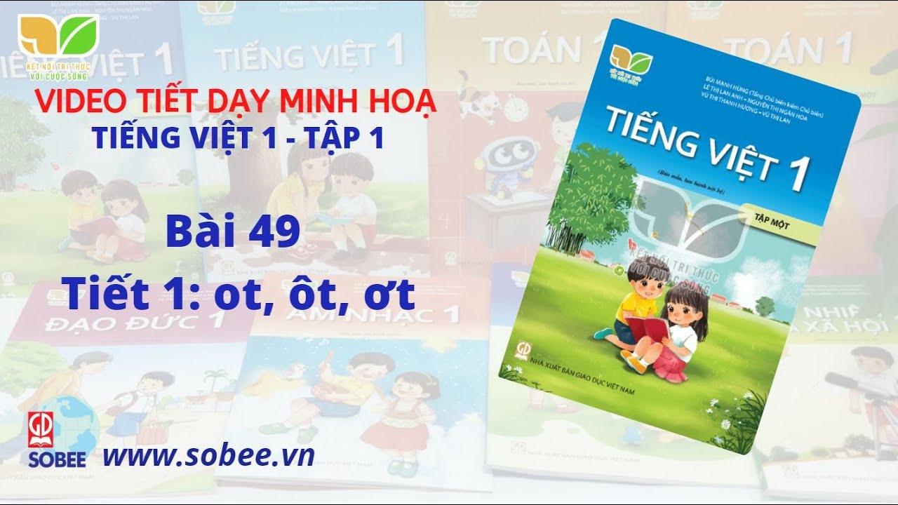 Tiết dạy minh hoạ Tiếng Việt 1 tập 1 – Bộ sách KẾT NỐI TRI THỨC VỚI CUỘC SỐNG