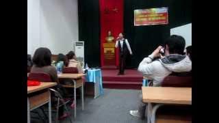[ULIS 's Pisces 2012] - Nguyễn Cao Cường - Đôi giày vải.
