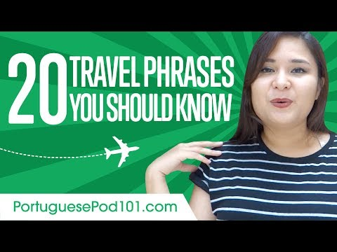 Learn the Top 20 Travel Phrases You Should Know in Portuguese