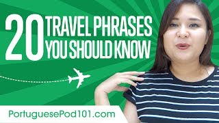 Baixar Learn the Top 20 Travel Phrases You Should Know in Portuguese