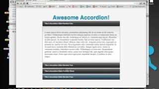 Bonus Tutorial #3: Basics On jQuery - Accordion Slider Part 3