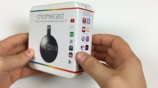 Google Chromecast 2 Unboxing and Setup - Giveaway