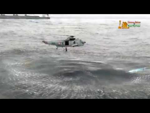 Cyclone Ockhi: Indian Navy's Search And Rescue Operation | Compilation Video on Navy Day