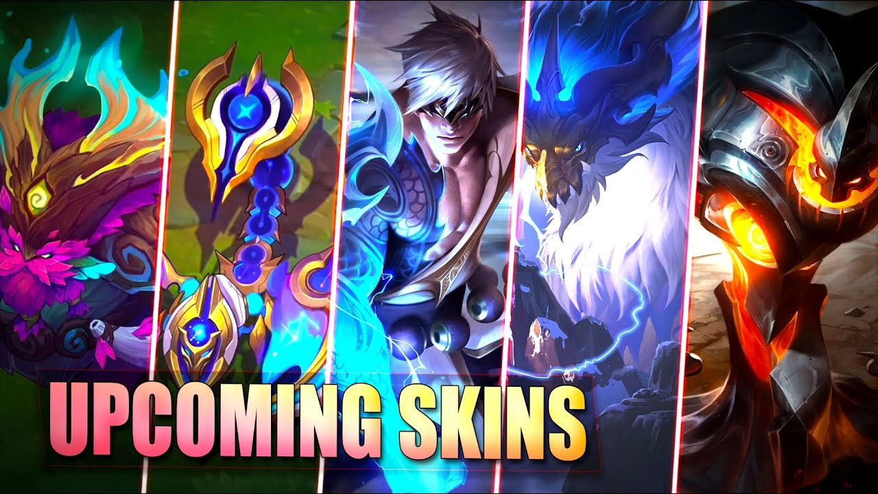 6 UPCOMING SKINS TEASERS & ULTIMATE SKIN - Legendary Dragonmancers - League of Legends