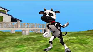 Cow Dancing Cow Sounds Cow Videos For Kids