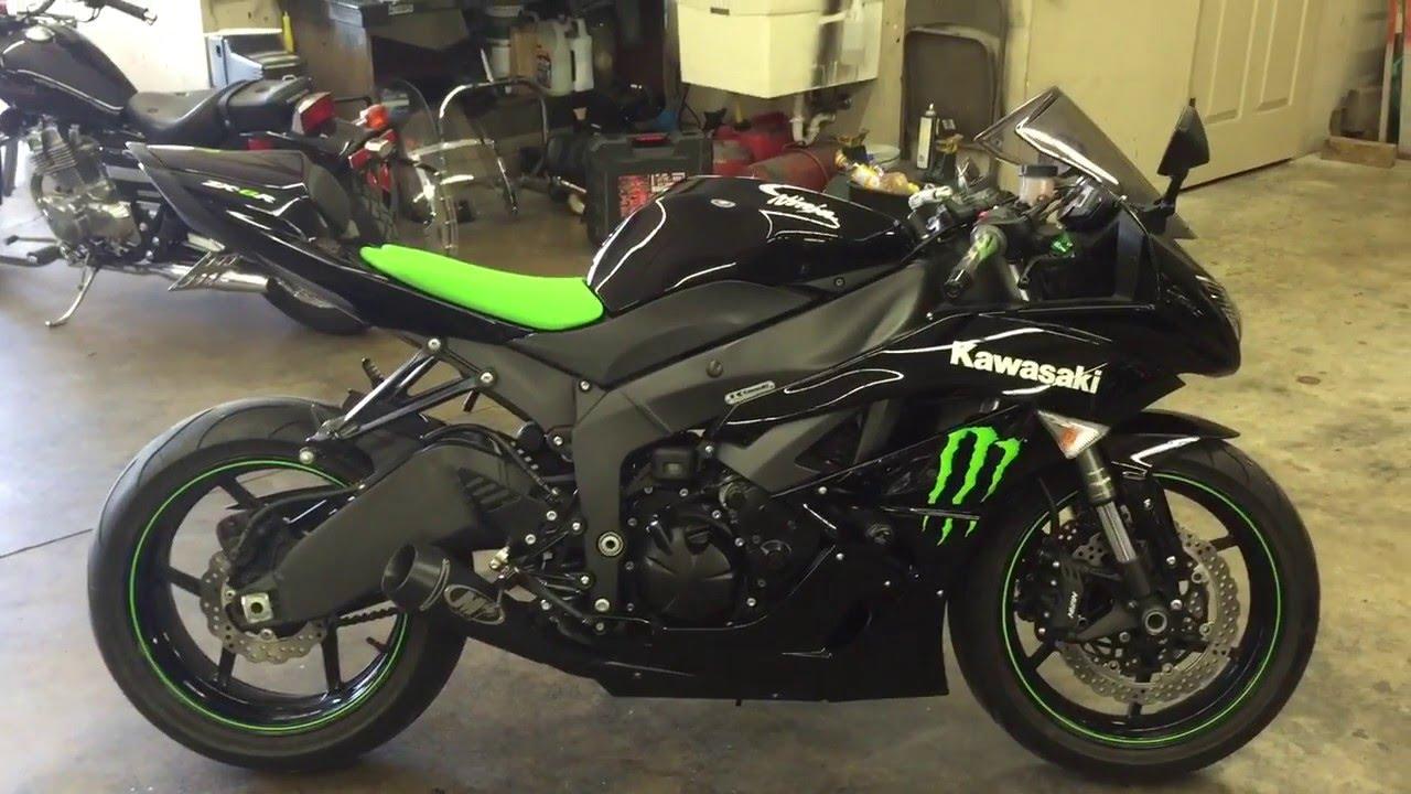 Attirant 2009 Kawasaki Ninja Zx6r Monster