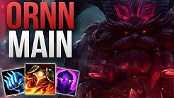 ORNN TOP STOMP GAMEPLAY BY A CRAZY GOOD ORNN MAIN | CHALLENGER ORNN TOP GAMEPLAY | Patch 9.6 S9