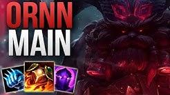 ORNN TOP STOMP GAMEPLAY BY A CRAZY GOOD ORNN MAIN | CHALLENGER ORNN TOP GAMEPLAY | Patch 9.6 S9